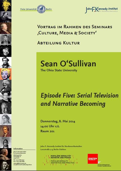 Episode Five: Serial Television and Narrative Becoming